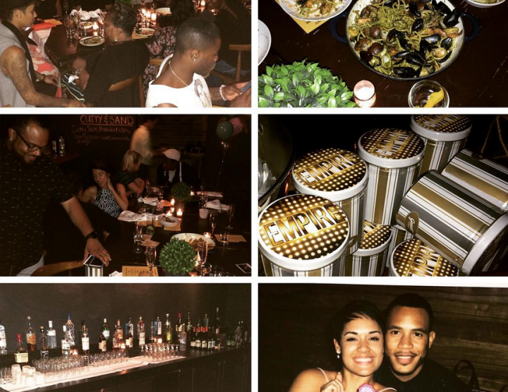 Empire Castmates Grace Gealey and Trai Byers Are Engaged