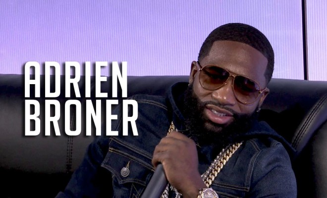 Adrien Broner Talks Walking Off Love & Hip Hop & Having Love for Floyd Mayweather! [VIDEO]