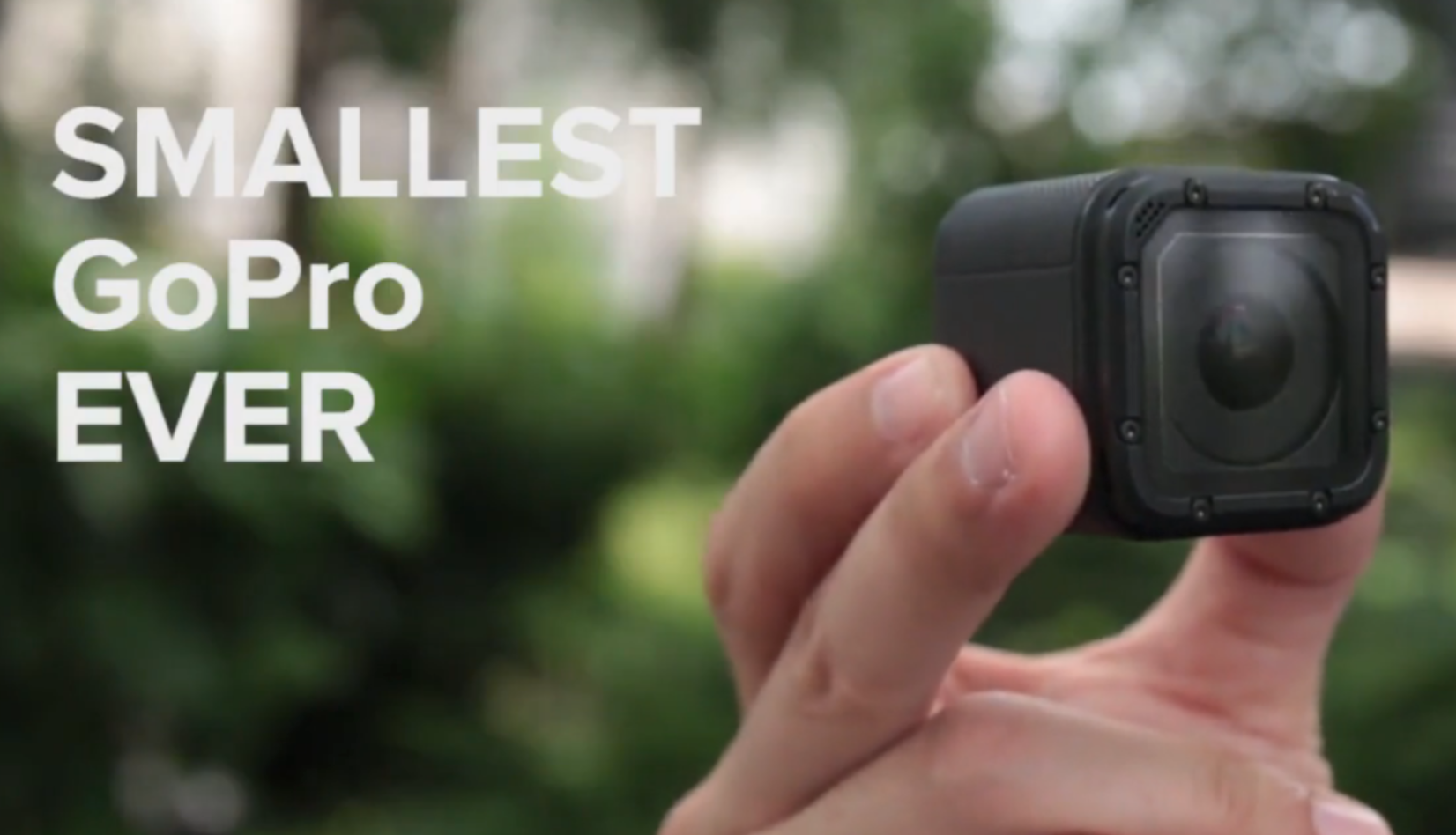 GoPro Hero 4 Session is Here, Smallest GoPro Ever