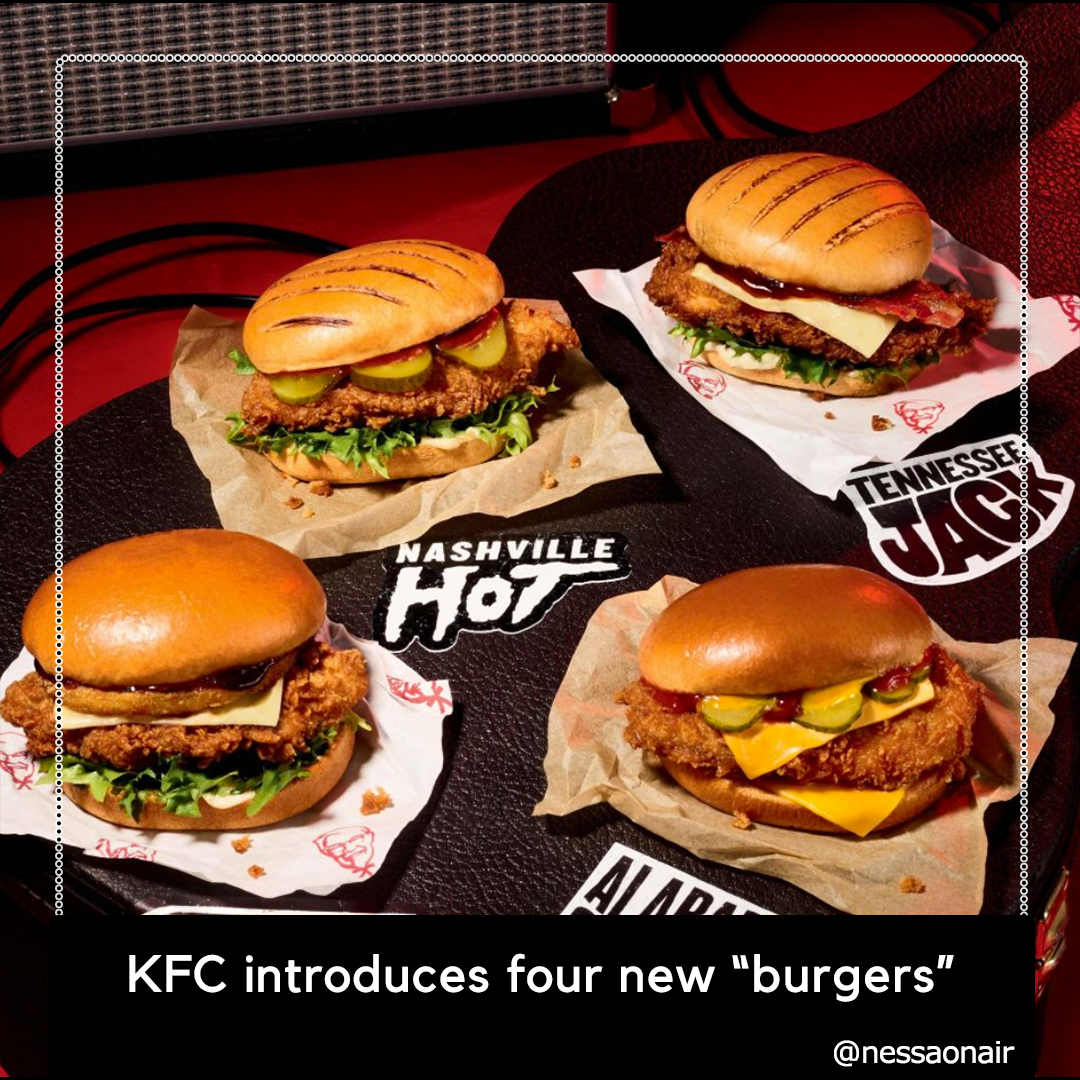KFC is making burgers?! What!!! - Nessa On Air